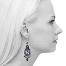 Ayala Bar Love Jet French Wire Earrings