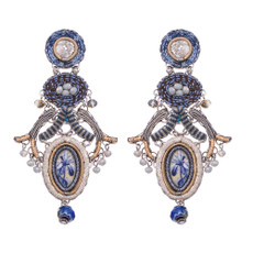 Ayala Bar Sapphire Waves Karma Earrings