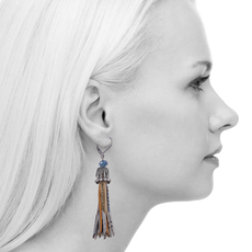 Ayala Bar Sapphire Waves French Wire Earrings