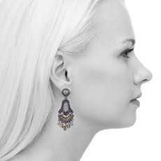 Ayala Bar Sapphire Waves Drift Earrings