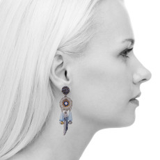 Ayala Bar Sapphire Waves Azure Earrings