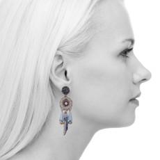 Ayala Bar Sapphire Waves Azure Earrings