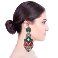 Ayala Bar Granada Lillypad Earrings