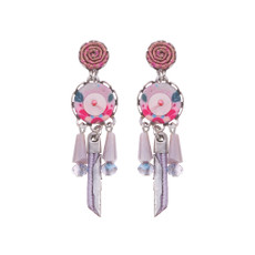 Ayala Bar Morning Blossom Cotton Candy Earrings