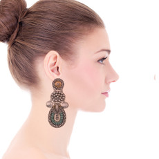 Ayala Bar Indigo Dancing Water Earrings