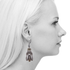 Ayala Bar Indigo French Wire Earrings
