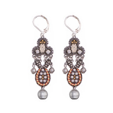 Ayala Bar Indigo Child French Wire Earrings