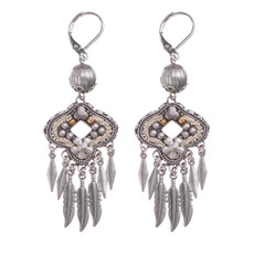 Ayala Bar Indigo Hypnotize French Wire Earrings