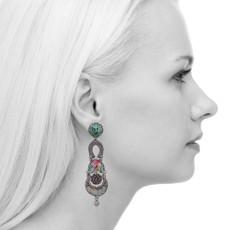 Ayala Bar Full Moon Extraterrestrial Earrings