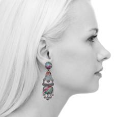 Ayala Bar Full Moon Peek-a-boo Earrings