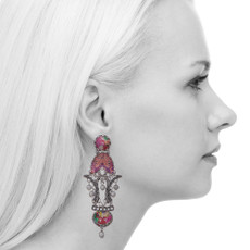 Ayala Bar Crimson Dreams Lust Earrings