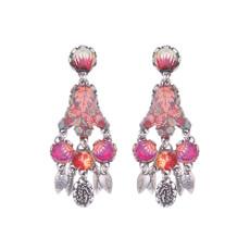 Ayala Bar Crimson Dreams Bloom Earrings