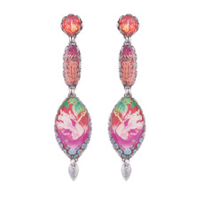 Ayala Bar Crimson Dreams Insanity Earrings