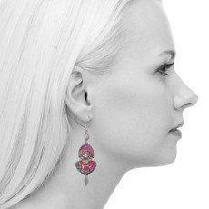 Ayala Bar Crimson Dreams French Wire Earrings
