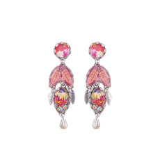 Ayala Bar Crimson Dreams Van Gogh Earrings