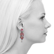 Ayala Bar Crimson Dreams Incarnation Earrings