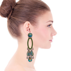 Ayala Bar Sweet Leaf Rainforest Earrings