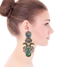 Ayala Bar Sweet Leaf Divina Earrings