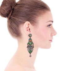 Ayala Bar Sweet Leaf Tropics Earrings