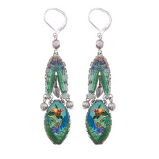 Ayala Bar Sweet Leaf French Wire Earrings