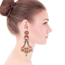 Ayala Bar Coral Cave Kaleidescope Earrings