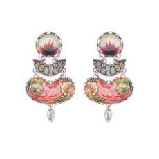 Ayala Bar Coral Cave Reef Earrings