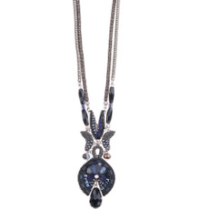 Ayala Bar Love Jet Long and Layered Necklace