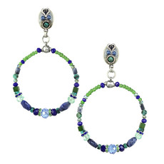 Michal Golan Lake Como Hoop Earrings