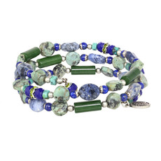 Michal Golan Lake Como Wrap Beaded Bracelet
