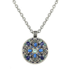 Michal Golan Lake Como Large Medallion Necklace