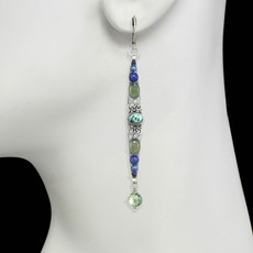 Michal Golan Lake Como Long Earrings