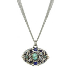 Michal Golan Lake Como Long Oval Necklace