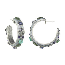 Michal Golan Lake Como Mini Hoop Earrings