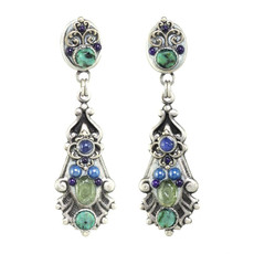 Michal Golan Lake Como Shield Earrings