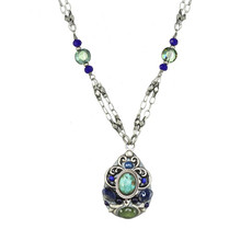 Michal Golan Lake Como Teardrop Necklace