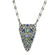 Michal Golan Lake Como Triangle Necklace