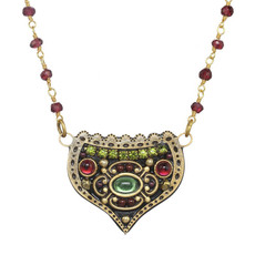 Michal Golan Enchanted Crest Necklace