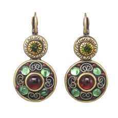 Michal Golan Enchanted Double Circle Earrings