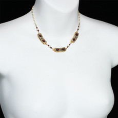 Michal Golan Victorian Bars Necklace