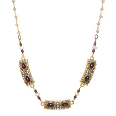 Michal Golan Victorian Bars Necklace