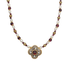 Michal Golan Victorian Clover Necklace