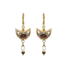 Michal Golan Victorian Crescent Earrings