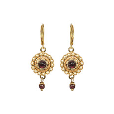 Michal Golan Victorian Flower Earrings
