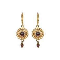 Michal Golan Victorian Flower Earrings