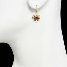 Michal Golan Victorian Heart Earrings
