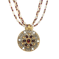 Michal Golan Victorian Medallion Necklace