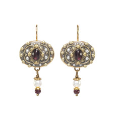 Michal Golan Victorian Ornate Earring