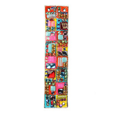 Michal Golan Mezuzah in Bright Colors