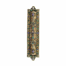 Michal Golan Mezuzah in Dark Gold