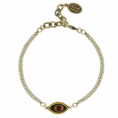Michal Golan Small Red evil eye bracelet